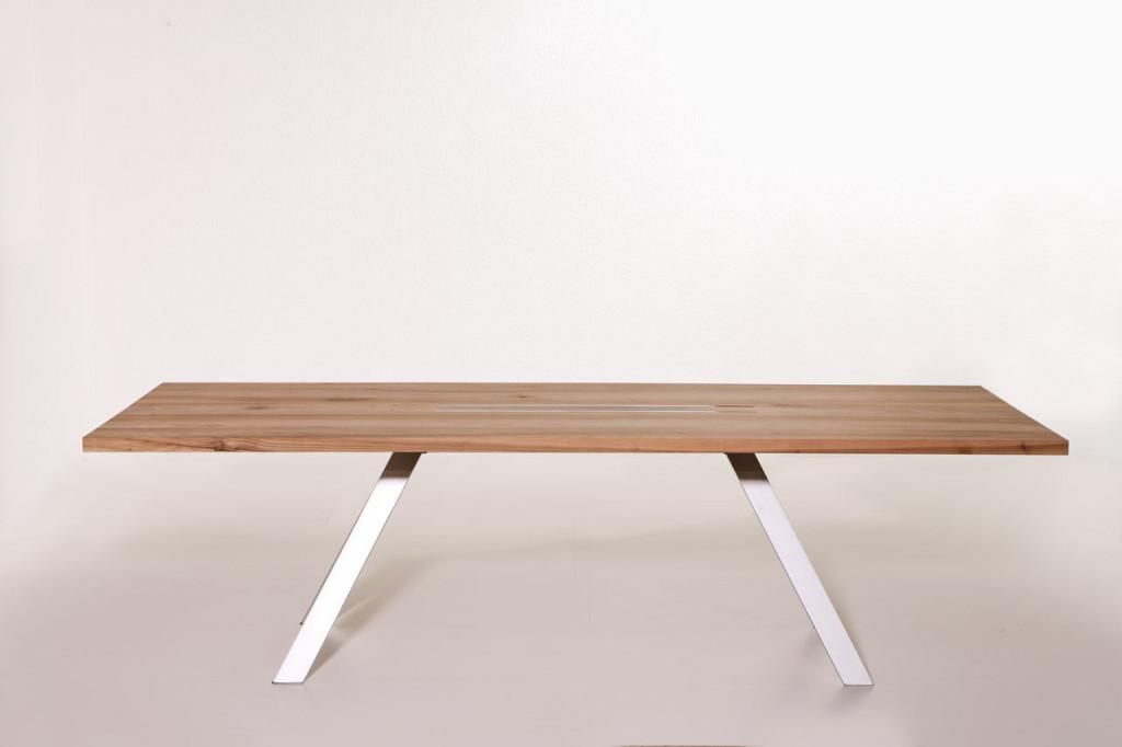 Table a manger metal et bois - Table a manger bois et metal ...
