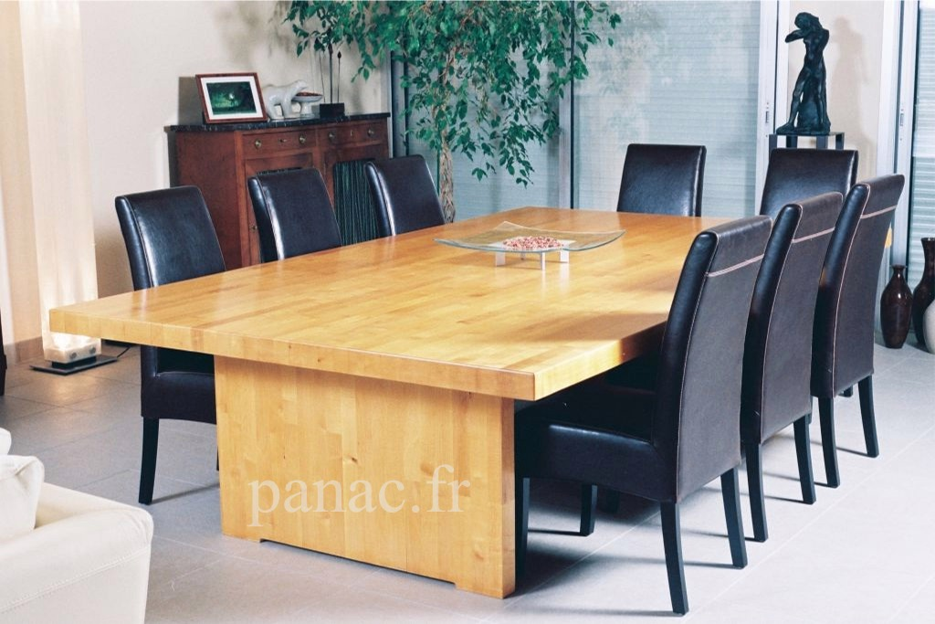Table a manger sur mesure for Table de salle a manger sur mesure
