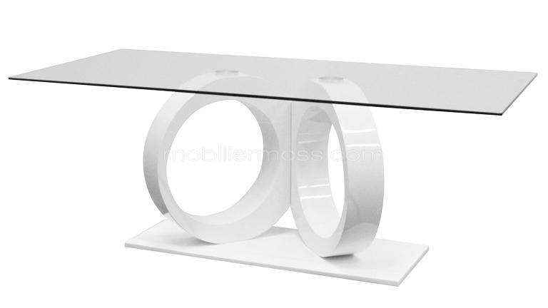 Table a manger verre design - Table en verre design salle a manger ...