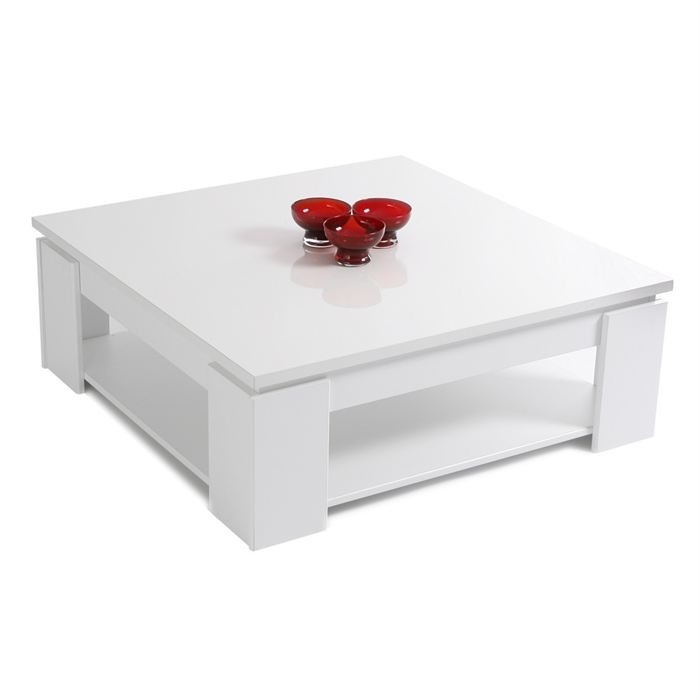 Table basse blanche pas cher en ligne - Table basse up and down pas cher ...