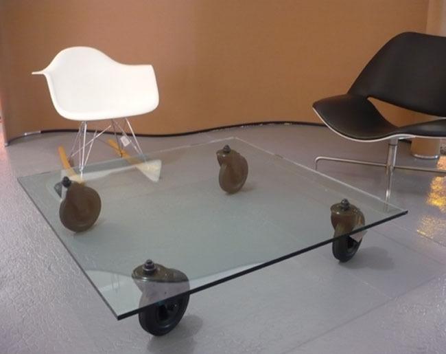 table basse gae aulenti. Black Bedroom Furniture Sets. Home Design Ideas
