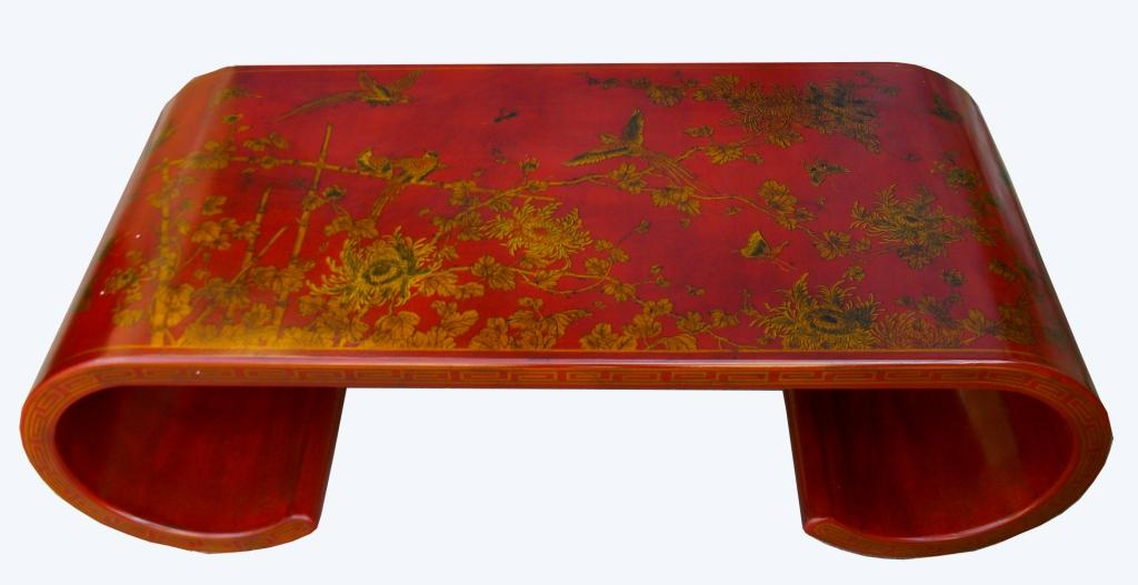 Table basse japonaise traditionnelle for Table japonaise