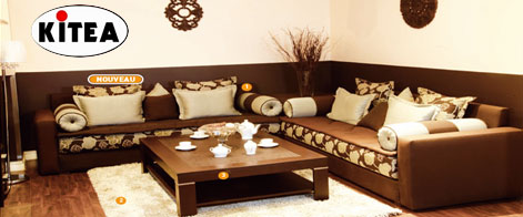Mobilier maison table basse kitea for Meuble bureau kitea