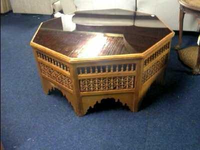Exemple table basse marocaine - Table basse salon marocain ...