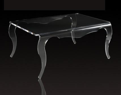 table basse en plexiglas transparente table basse. Black Bedroom Furniture Sets. Home Design Ideas