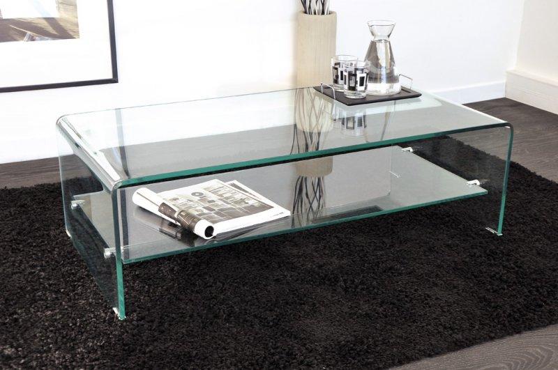 Table basse verre trempe en ligne - Table basse en verre trempe ...