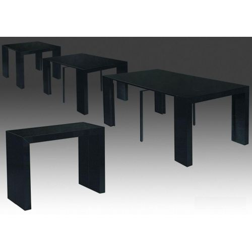 Table console cdiscount - Table extensible laquee ...