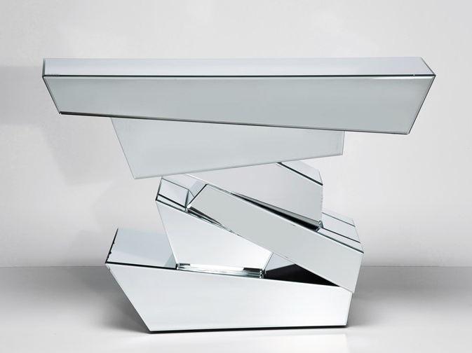 Table console miroir for Miroir en ligne