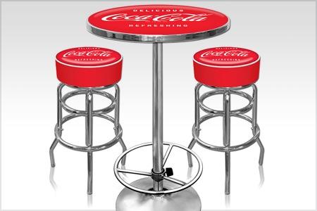 Table de bar coca cola - Meuble coca cola ...