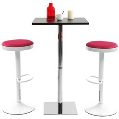Conforama table de cuisine et chaises deco maison design for Table rabattable murale conforama