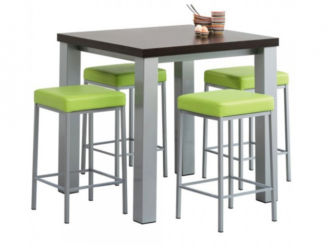 Trouver table de bar haute conforama for Table haute conforama
