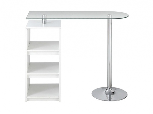Table de bar pour cuisine for Bar pivotant cuisine