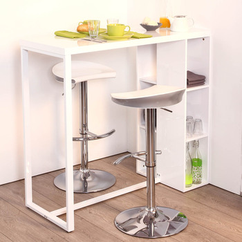 Table rabattable cuisine paris tabouret chaise bar for Table cuisine avec tabouret bar