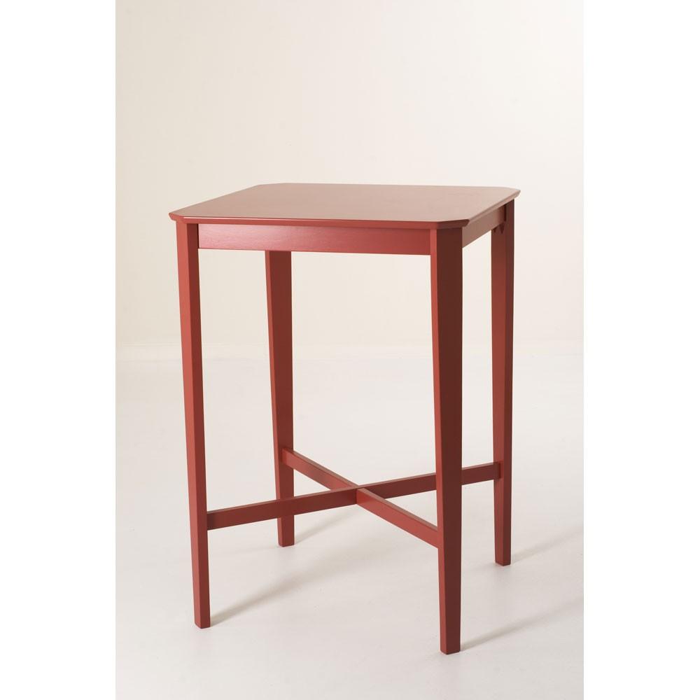 Table de bar rouge for Table de bar rouge