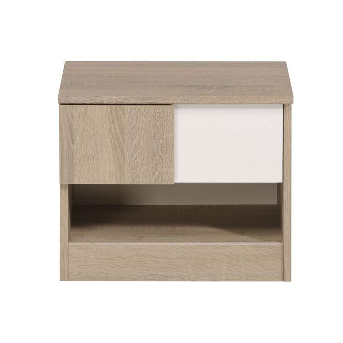table de chevet cdiscount. Black Bedroom Furniture Sets. Home Design Ideas