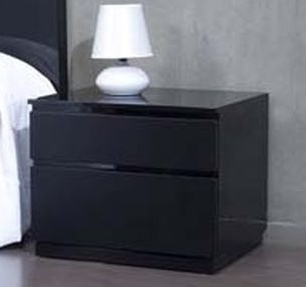 table de chevet noir. Black Bedroom Furniture Sets. Home Design Ideas