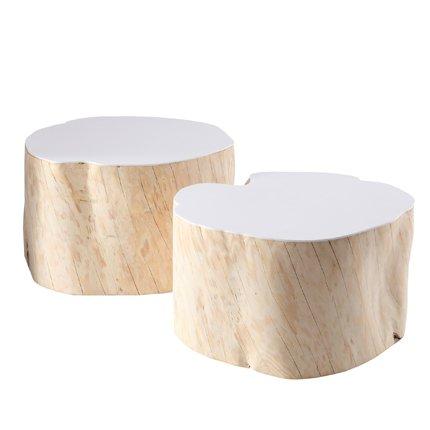 ide table de chevet rondin de bois - Table De Nuit Rondin De Bois