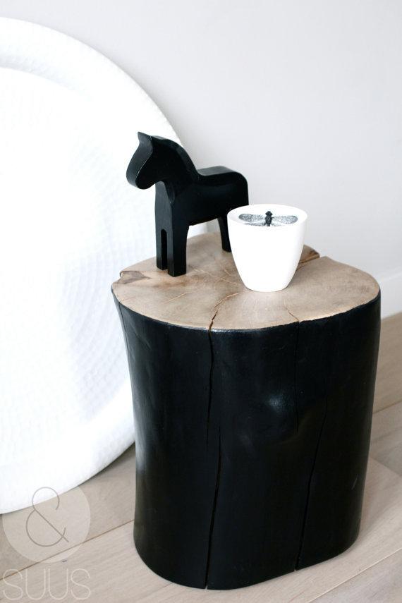 table de chevet rondin de bois table de chevet rondin bois - Table De Nuit Rondin De Bois