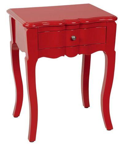 Comparatif Table De Chevet Rouge