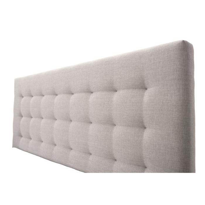 idée tete de lit gris clair