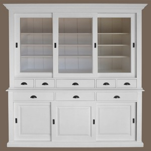 vaisselier bois blanc. Black Bedroom Furniture Sets. Home Design Ideas