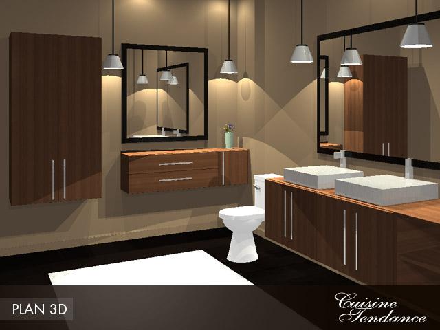 Exemple armoire chambre de bain for Modele de chambre de bain