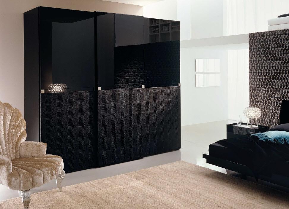 Armoire chambre design contemporain - Mobilier chambre design ...