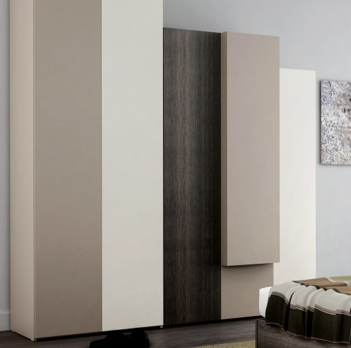 exemple armoire chambre design contemporain