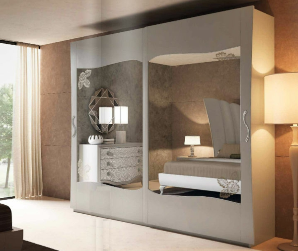 armoire chambre design contemporain. Black Bedroom Furniture Sets. Home Design Ideas