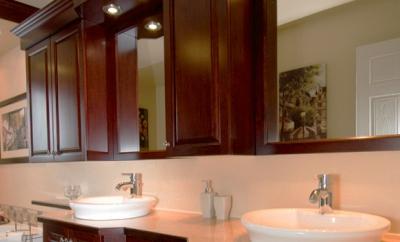 Armoire de chambre de bain for Armoire chambre de bain