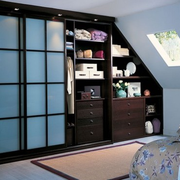 photo armoire de rangement chambre. Black Bedroom Furniture Sets. Home Design Ideas