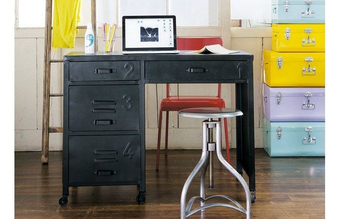 Beautiful Bureau Garcon Industriel Photos - House Design ...