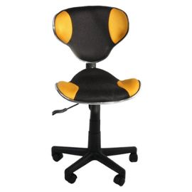 Chaise de bureau jaune - Chaise de bureau jaune ...