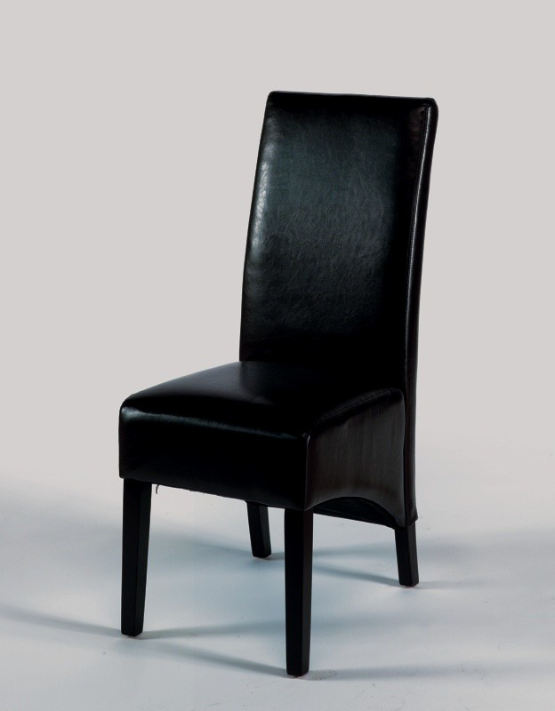 Chaise de salon noir maison design - Chaise de salon pas cher ...