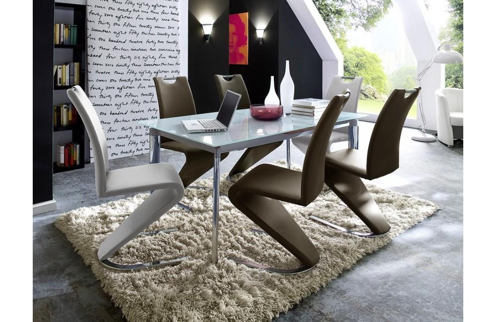 Mod le chaise de salle a manger pas cher design for Table 6 chaises pas cher