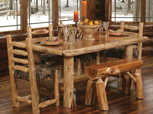 Meuble de salle manger rustique for Salle a manger rustique