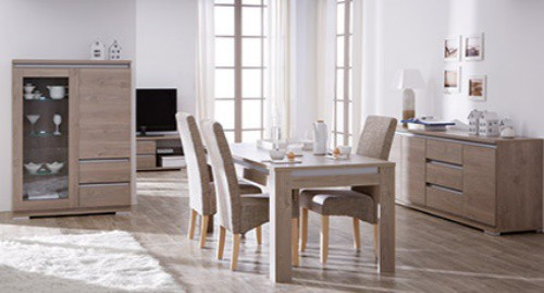 chaises de salle a manger chez but. Black Bedroom Furniture Sets. Home Design Ideas