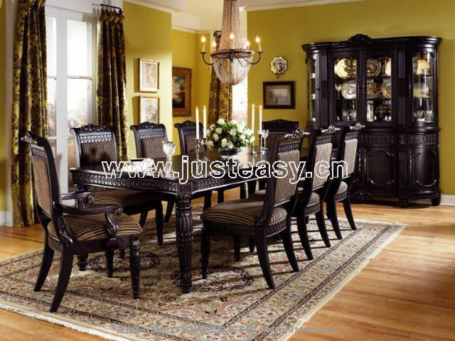 organisation chaises salle a manger retro. Black Bedroom Furniture Sets. Home Design Ideas