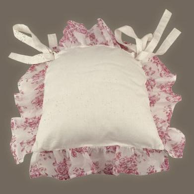 Galette de chaise a fleurs - Modele galette de chaise ...