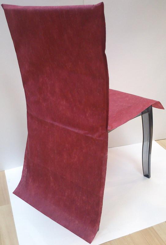 Housse de chaise fuchsia pas cher for Housse de chaise rouge pas cher