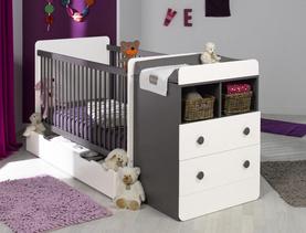 lit bebe modulable. Black Bedroom Furniture Sets. Home Design Ideas