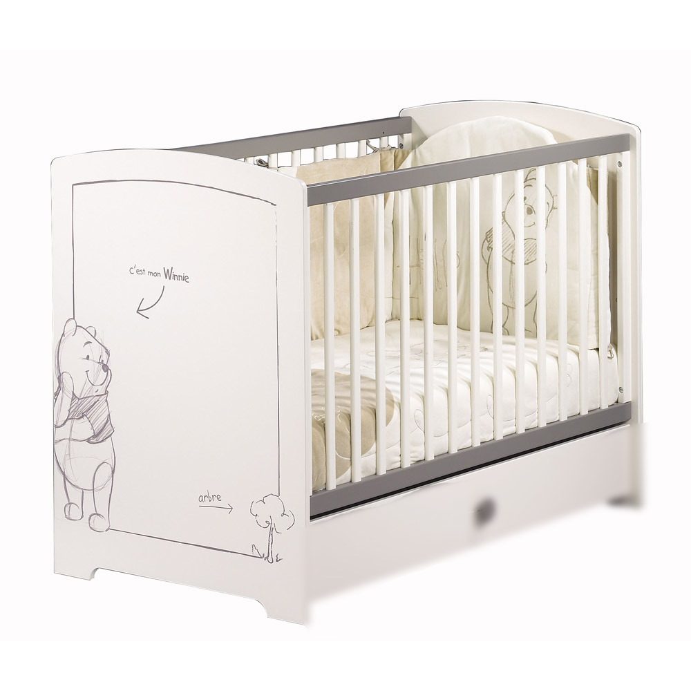 Lit de bebe aubert for Chambre winnie l ourson aubert