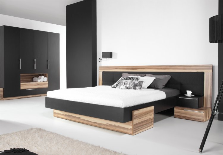 lit 2 personnes moderne maison design. Black Bedroom Furniture Sets. Home Design Ideas