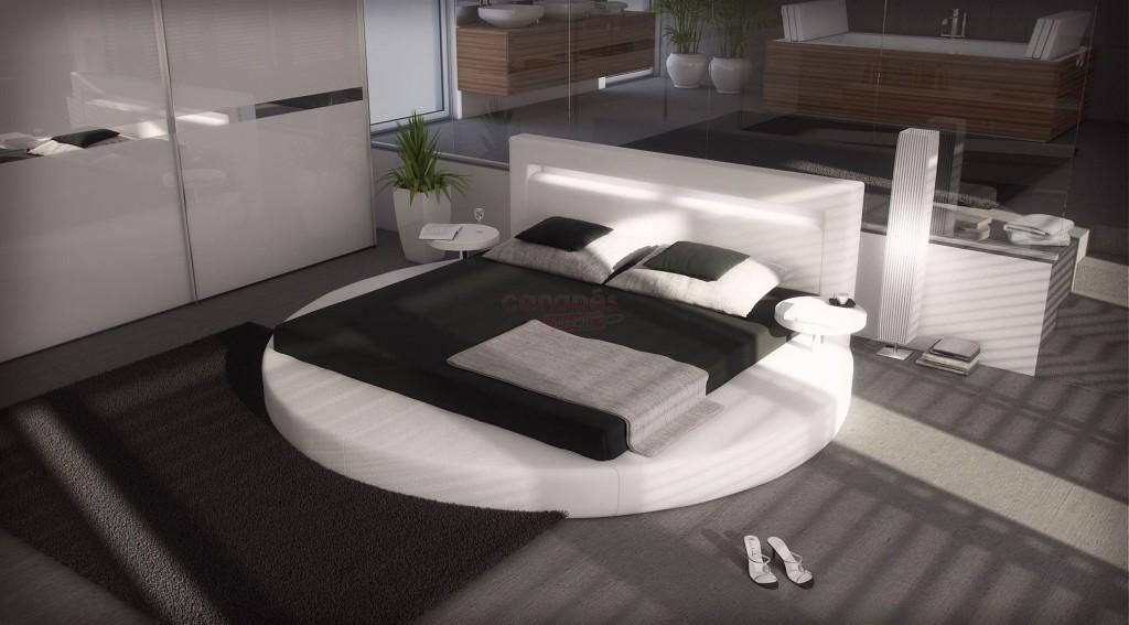 Lit rond ikea images - Ikea lit deux personnes ...