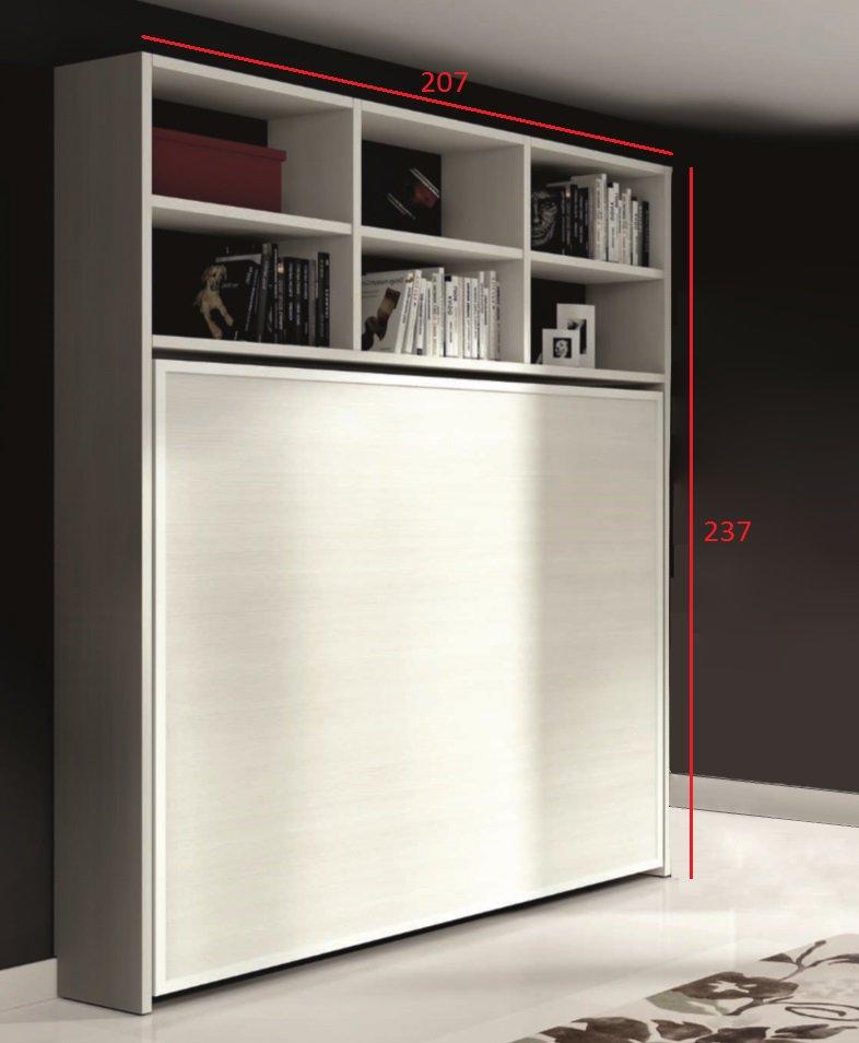 lit deux places escamotable. Black Bedroom Furniture Sets. Home Design Ideas