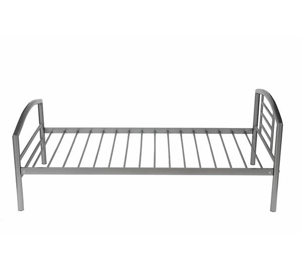 lit une personne gris. Black Bedroom Furniture Sets. Home Design Ideas