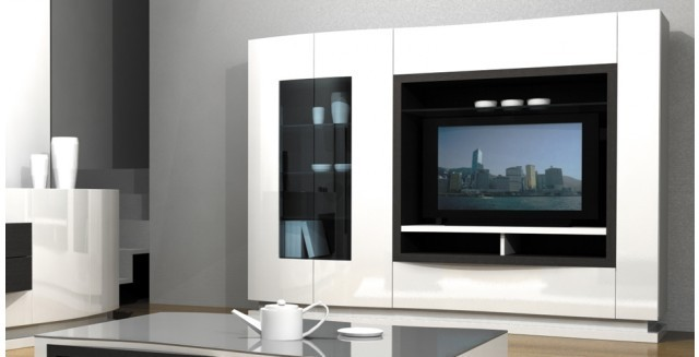 meuble bas tv mobilier de france. Black Bedroom Furniture Sets. Home Design Ideas