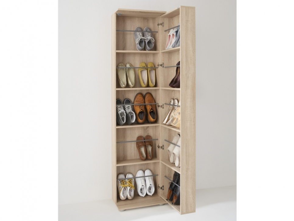 Meuble chaussure une porte for Petit meuble une porte