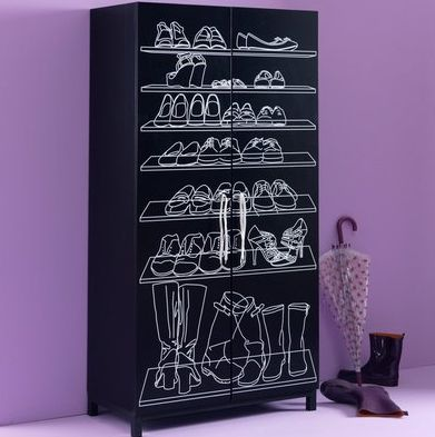 meuble chaussures la redoute. Black Bedroom Furniture Sets. Home Design Ideas