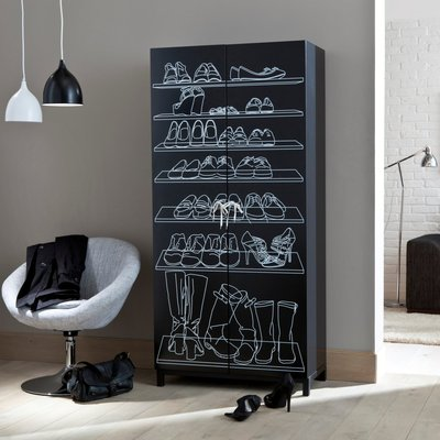 meuble chaussures original. Black Bedroom Furniture Sets. Home Design Ideas